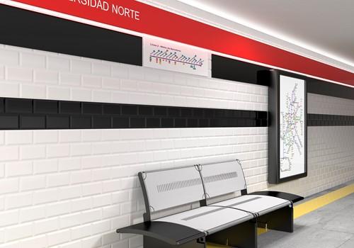 Madrid Metro Rojo Brillo 7,5x15 HM0332 € 89,95 m²-2