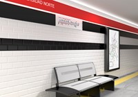 Madrid Metro Blanco Brillo 10x20 HM0501 € 49,95 m²-2