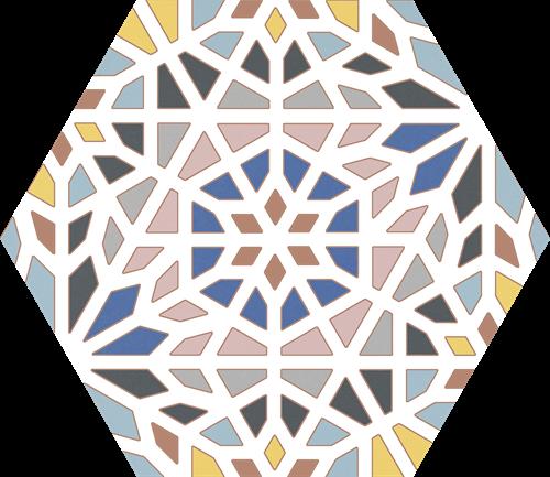 Hex25 Kasbah Mix Colors 25x22 CV2220 € 54,95 m²