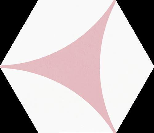 Hex25 Porto Venere Pink 25x22 CV2287 € 54,95 m²