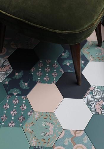 Good Vibes Green 14x16 MV1402 € 84,95 m²-1