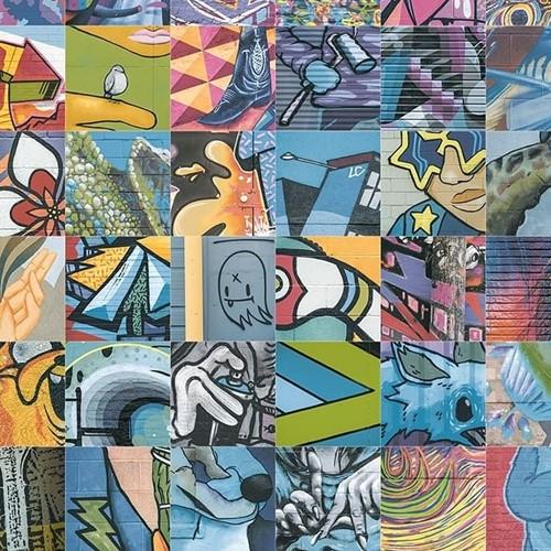 Graffiti Dec (mix) 20x20 HA2021 € 99,95 m²
