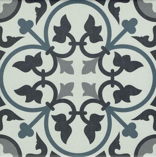 La Villette Adele Bleu 20x20 RV2031 € 54,95 m² Let op nieuwe verpakkingseenheid!