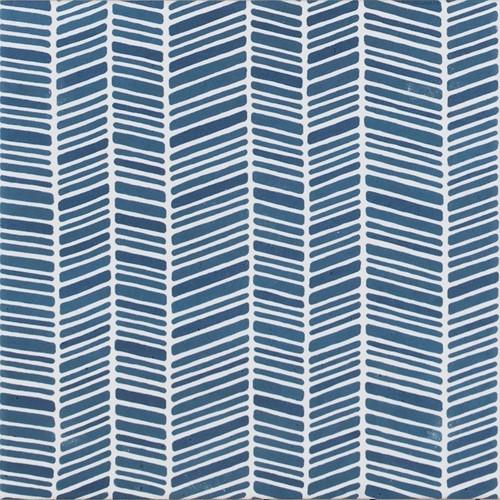 Aquarel Decoro Stripe Blu 15x15 TA1521 € 89,95 m²
