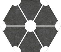 Hex25 Atom Black 25x22 CV2277 € 54,95 m²