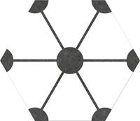 Hex25 Atom White 25x22 CV2278 € 54,95 m²