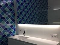 Curvilineo 13x13 Azul CU1311 € 199,95 m²-2