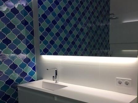 Curvilineo 13x13 Azul T-10 CU1310 € 199,95 m²-2