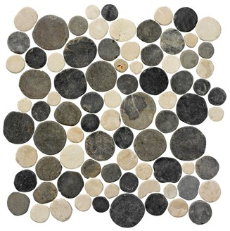 Stone Age Coins White Flat Silva Grey 30x30 SAC129 € 119,95 m²