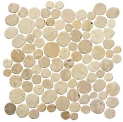 Stone Age Coins White Flat 30x30 SAC108 € 119,95 m²