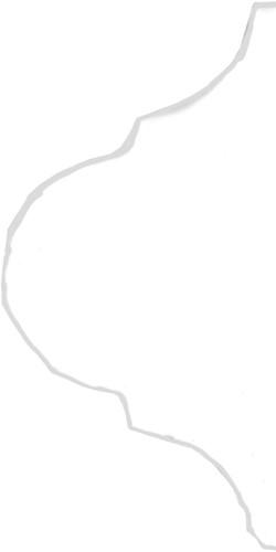 Curvilineo 13x13x1 Blanco Ter 1 CU2501 € 3,95 st.