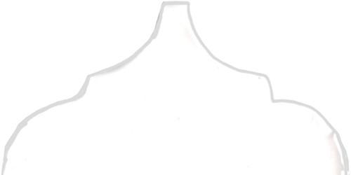 Curvilineo 13x13x1 Blanco Ter 2 CU2601 € 3,95 st.