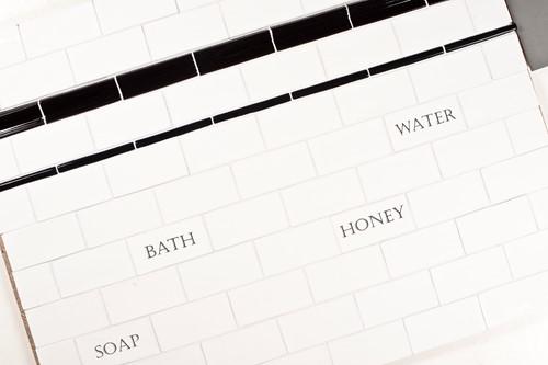 Kent Words Soap Snow White 7,5x15 KE0112 € 4,95 st.-2