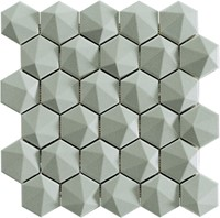 Nordik 3D Hex Aluminium 34x32,6 NN3462 € 199,95 m²