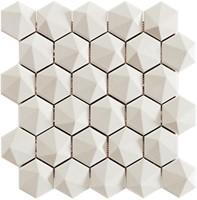 Nordik 3D Hex Snow White 34x32,6 NN3461 € 199,95 m²