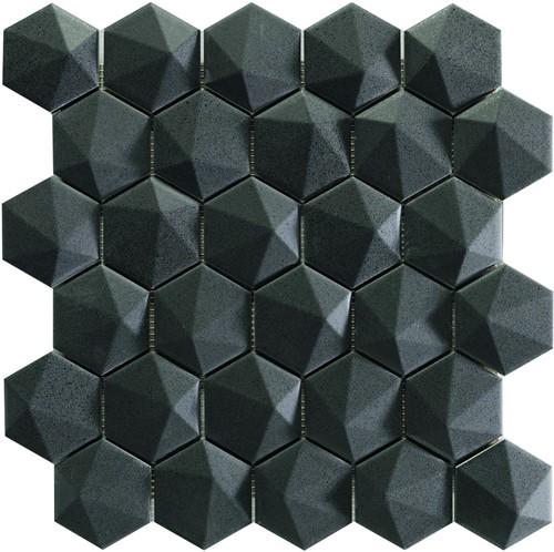 Nordik 3D Hex Graphite 34x32,6 NN3464 € 199,95 m²