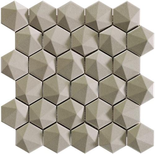Nordik 3D Hex Tan 34x32,6 NN3466 € 199,95 m²