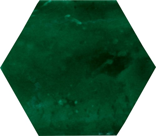 Manual Exagono 10x11,5 Verde Cobre EX1128 € 109,95 m²
