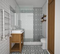 La Madeleine Flavie Blanc 20x20 RP2079 € 59,95 m²-2