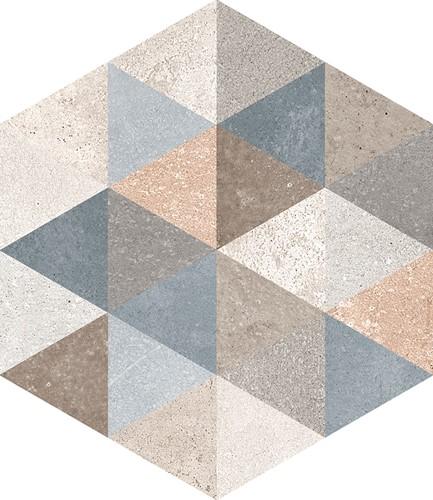 Rift Hexagon Fingal (mix) 23x26,6 VH2352 € 79,95 m²