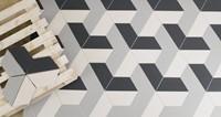 Alchimia Trapezio Bianco 26,6x11,5 ALC104M € 99,95 m²-2