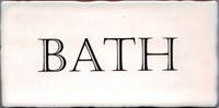 Kent Words Bath Old White 7,5x15 KE1809 € 4,95 st.
