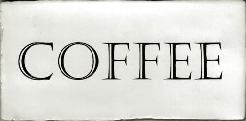 Kent Words Coffee Snow White 7,5x15 KE0103 € 4,95 st.