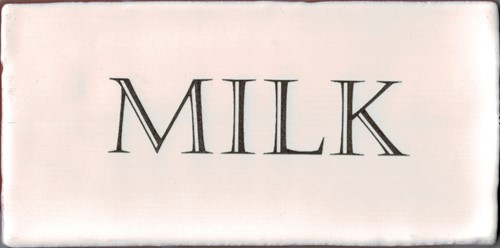 Kent Words Milk Old White 7,5x15 KE1801 € 4,95 st.