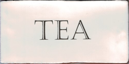 Kent Words Tea Old White 7,5x15 KE1806 € 4,95 st.