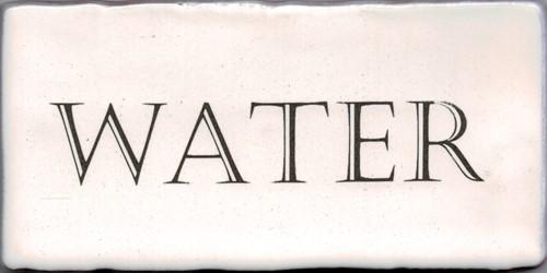 Kent Words Water Old White 7,5x15 KE1814 € 4,95 st.