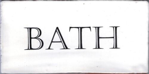 Kent Words Bath Snow White 7,5x15 KE0109 € 4,95 st.