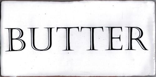 Kent Words Butter Snow White 7,5x15 KE0104 € 4,95 st.
