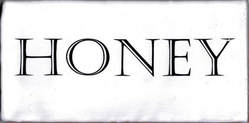 Kent Words Honey Snow White 7,5x15 KE0105 € 4,95 st.