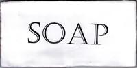 Kent Words Soap Snow White 7,5x15 KE0112 € 4,95 st.