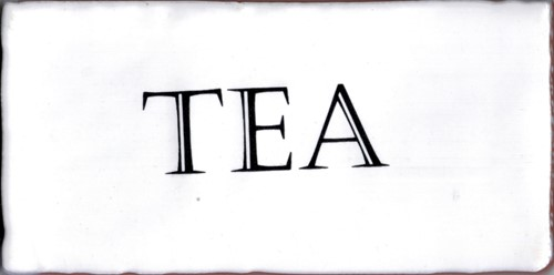 Kent Words Tea Snow White 7,5x15 KE0106 € 4,95 st.
