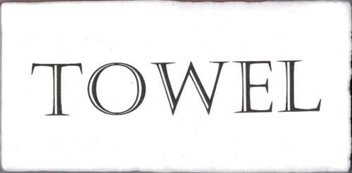 Kent Words Towel Snow White 7,5x15 KE0113 € 4,95 st.