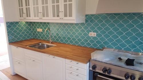 Curvilineo 13x13 Verde Azulado CU1327 € 199,95 m²-2