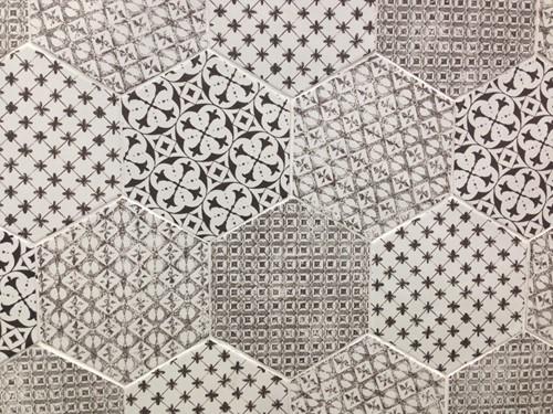 Marrakech 4 Décor mix Negro 15x15 MK5127 € 69,95 m²-3