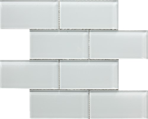 Glass Metro White 30x30 AM3035 € 279,95 m²