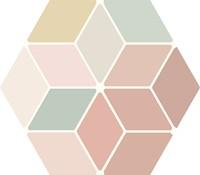 Minima8.6 Multi Color 17x15 MIN103M € 109,95 m²