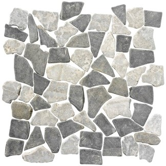 Stone Age Mix Black/Silva Grey 30x30 SAT148 € 89,95 m²