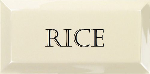 Grand Metro Words Rice Old White 10x20 GM1807 € 4,95 st.