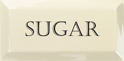 Grand Metro Words Sugar Old White 10x20 GM1802 € 4,95 st.