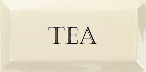 Grand Metro Words Tea Old White 10x20 GM1806 € 4,95 st.