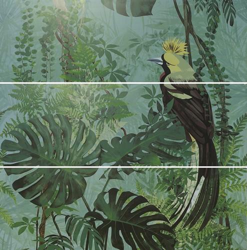 Silk Décor Set(3) DEF Virnia Turquoise 40x120 AS1248 € 431,95  per set