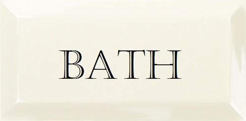 Grand Metro Words Bath Snow White 10x20 GM0109 € 4,95 st.