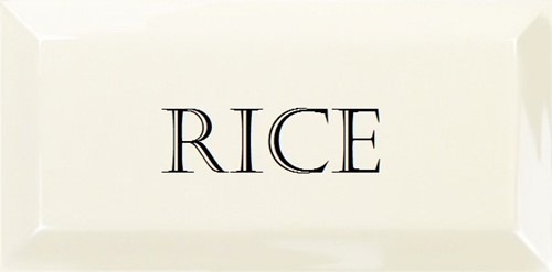 Grand Metro Words Rice Snow White 10x20 GM0107 € 4,95 st.
