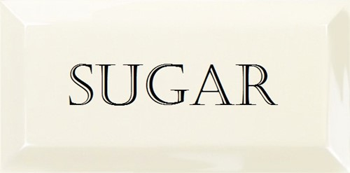 Grand Metro Words Sugar Snow White 10x20 GM0102 € 4,95 st.