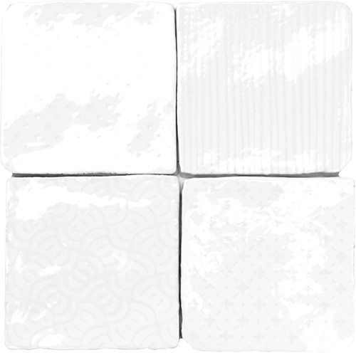 Stow Bianco Decor 10x10 NC0111 € 94,95 m²