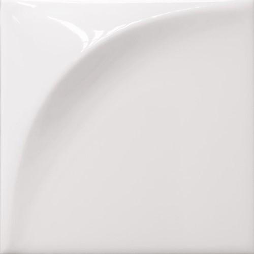 Vertex Curve White 15x15 HC1501 € 64,95 m²